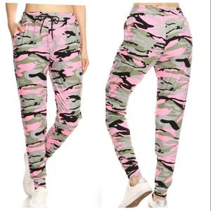 Pants - NWT $50 Camo Camouflage Jogger Joggers Pants